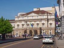 Teatro alla Scala Milan Stock Photo