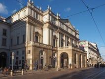 Teatro alla Scala in Milan Stock Photography