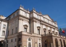 Teatro alla Scala Milan Royalty Free Stock Photography