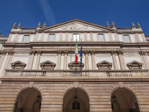 Teatro alla Scala Milan Stock Photography