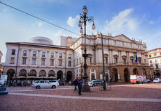 Teatro alla Scala, Milan Royalty Free Stock Images