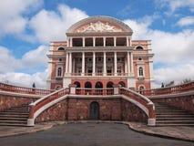 Teatro Amazonas Arkivbilder