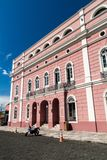 Teatro Amazonas. Famous theatre building in Manaus, Brazil royalty free stock photography