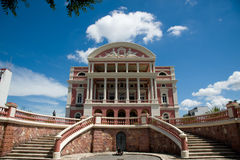 Teatro Amazonas Stock Photos