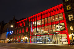Teatro Amsterdam di marzo della La del De Fotografia Stock Libera da Diritti