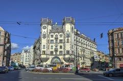 Teatro Andrei Mironov a St Petersburg immagine stock libera da diritti