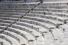 Teatro antico del primo piano a Plovdiv Immagine Stock Libera da Diritti