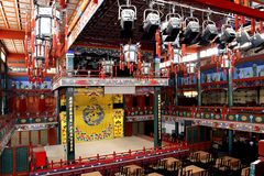 Teatro antico della Cina. Fotografia Stock Libera da Diritti