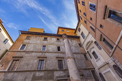 Teatro antico della Colonna στη Ρώμη Στοκ Εικόνες
