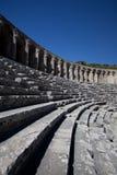 Teatro antico di Aspendos in Turchia Fotografie Stock