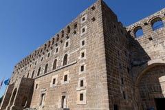 Teatro antico di Aspendos in Turchia Fotografia Stock Libera da Diritti