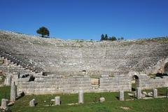 Teatro antico di Dodoni, Grecia Immagine Stock