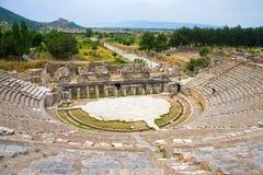 Teatro antico di Ephesus Immagini Stock Libere da Diritti