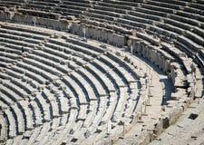 Teatro antico in Epidaurus anche Epidauros, Epidavros fotografia stock