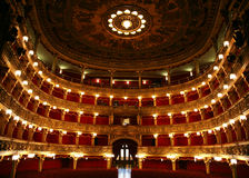 Teatro antigo Fotografia de Stock Royalty Free