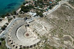 Teatro antigo Antalya, Turquia Fotos de Stock Royalty Free