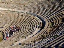 Teatro antiguo de Ephesus Fotos de archivo libres de regalías