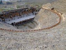 Teatro antiguo de Hierapolis Foto de archivo libre de regalías