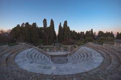 Teatro antiguo de Kos Foto de archivo