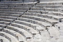 Teatro antiguo del primer en Plovdiv Imagen de archivo libre de regalías