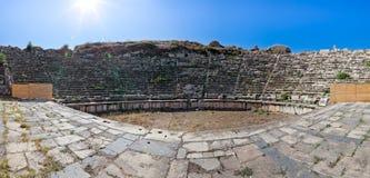 Teatro - Aphrodisias Immagine Stock