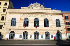 Teatro Argentina royalty free stock image