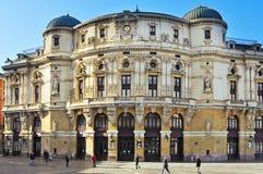Teatro Arriaga στο Μπιλμπάο, Ισπανία στοκ εικόνες με δικαίωμα ελεύθερης χρήσης