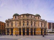 Teatro Arriaga a Bilbao Fotografie Stock
