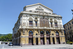 Teatro Arriaga in Bilbao Spain Stock Images