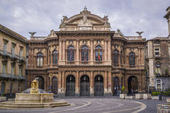 Teatro bellini, catania sicily Royalty Free Stock Photos