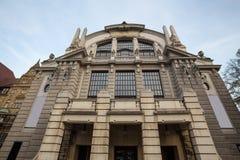 Teatro Bielefeld Alemania imagen de archivo