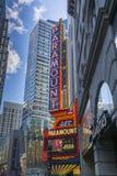 Teatro Bostom de Paramount Fotos de archivo libres de regalías