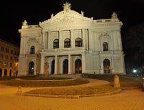 Teatro, Brno Fotografia Stock Libera da Diritti