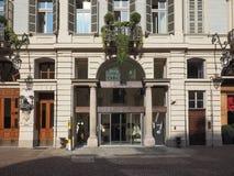Teatro Carignano theatre in Turin Royalty Free Stock Photo