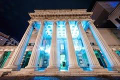 The Teatro Carlo Felice Stock Photography