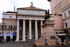 Teatro Carlo Felice di Genova, Aldo Rossi royalty free stock image