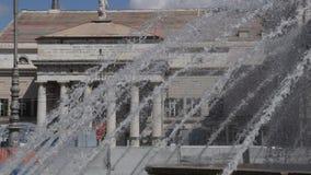 Teatro Carlo Felice stock video footage