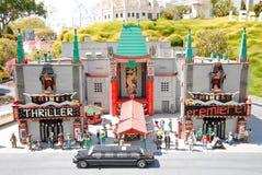 Teatro chinês em Legoland fotografia de stock royalty free