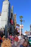 Teatro chino del TCL, Hollywood foto de archivo