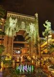 Teatro chino Los Ángeles en la noche foto de archivo