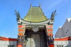 Teatro cinese in boulevard di Hollywood, Los Angeles immagini stock libere da diritti