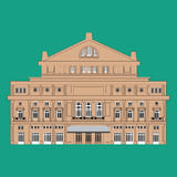 The Teatro Colon Buenos Aires Royalty Free Stock Image