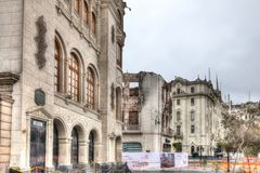 Teatro Colon in Lima, Peru royalty free stock photos