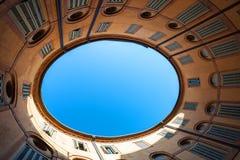 Teatro Comunale in Ferrara-Stadt lizenzfreie stockfotografie
