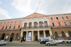 Teatro Comunale Piccinni in Bari, Puglia, Italien stockbilder