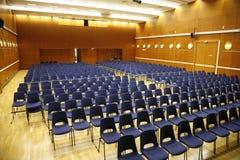Teatro con los asientos Foto de archivo