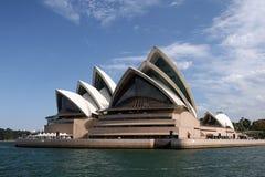 Teatro da ópera Austrália de Sydney Fotografia de Stock Royalty Free