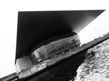 Teatro da ópera Copenhaga fotografia de stock royalty free
