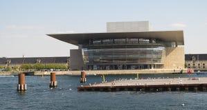Teatro da ópera de Copenhaga Imagem de Stock Royalty Free