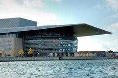 Teatro da ópera de Copenhaga Fotos de Stock Royalty Free